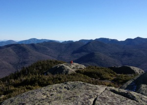 View from the top of Wright Peak